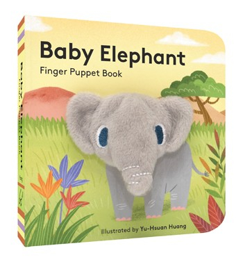 Baby elephant finger puppet book 0