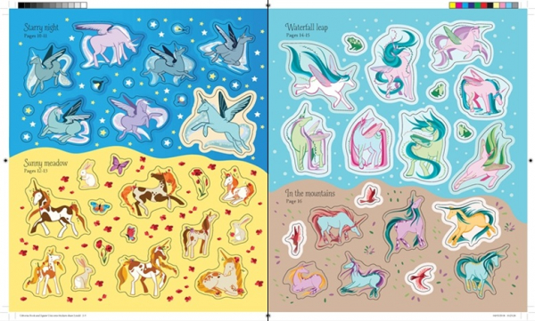unicorns book and puzzle 2