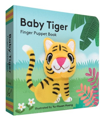 baby tiger finger puppet book 0