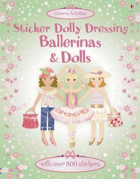 Ballerinas and dolls sticker dolly dressing 0