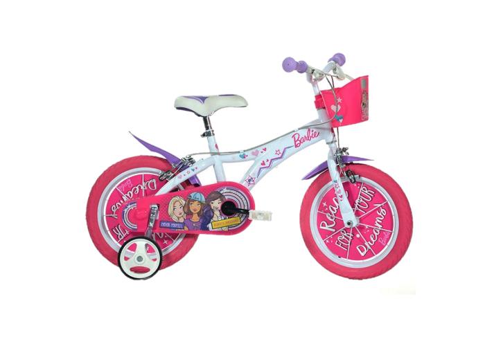 "Bicicleta copii 14"" - Barbie [0]"