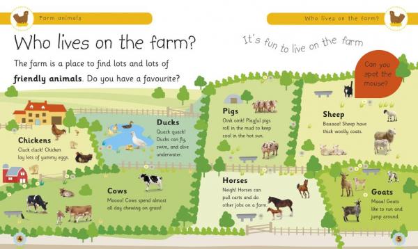 farm animals dk 1