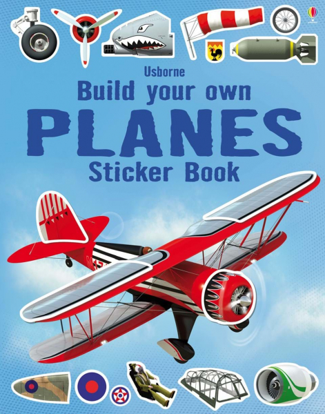 build your own planes sticker book 0