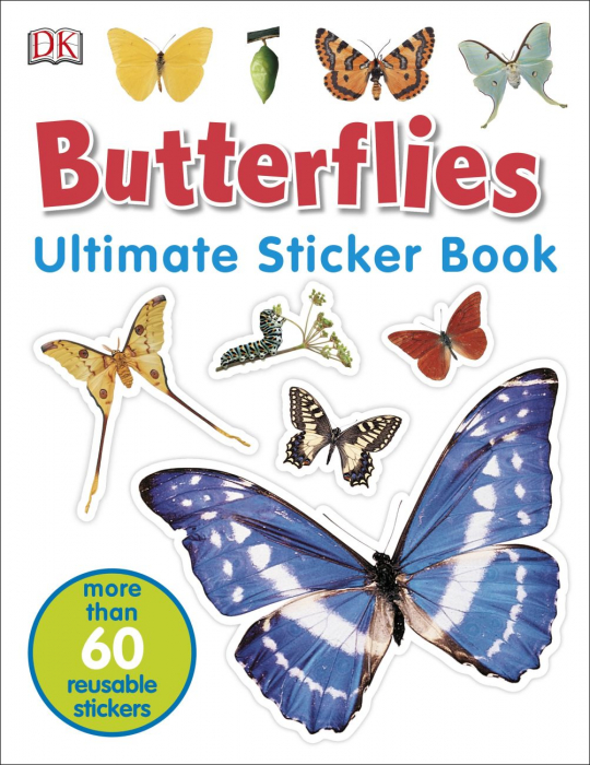 Butterflies Ultimate Sticker Book 0