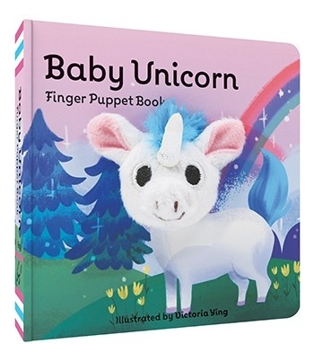 Baby Unicorn carte cu marioneta 0