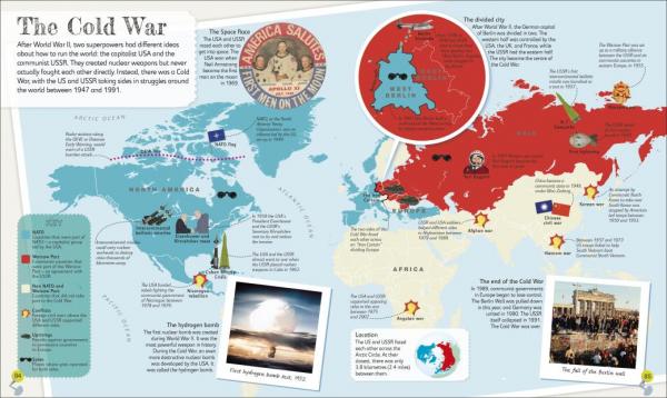 Children's Illustrated History Atlas 1