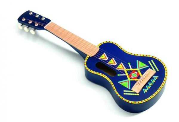 Chitara lemn cu motive 0