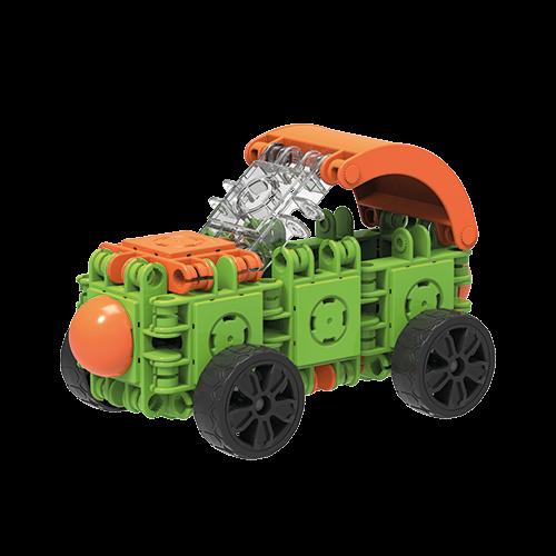Set de construit Clicformers- Craft verde 25 de piese 2