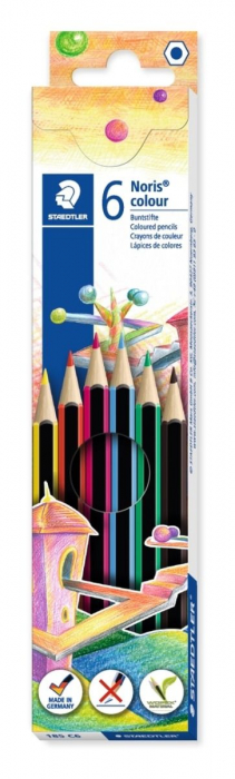 Staedtler Creioane color C6 wopex 6/set [0]