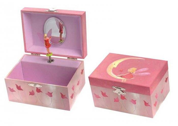 Cutie muzicala moon , caseta bijuterii 0