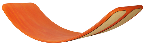 Placă de balans și echilibru, culoare ORANGE, cu benzi de plută pentru aderentă 0