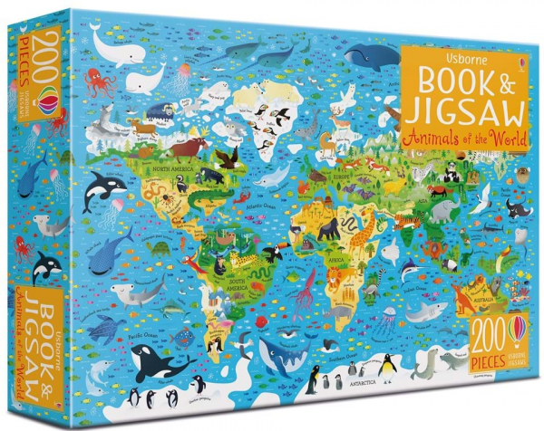 Animals of the world - Book and jigsaw [0]