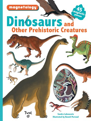 Dinosaurs and Other Prehistoric Creatures Set Magnetic 0