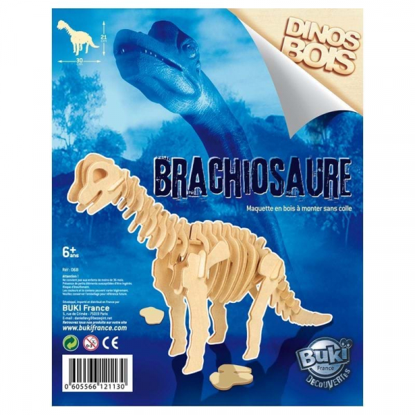Dinozaur din lemn (diverse modele) 3