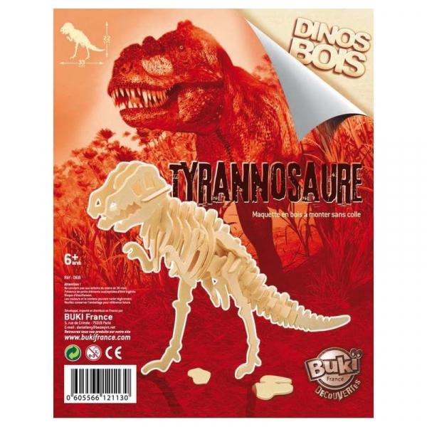 Dinozaur din lemn (diverse modele) 5