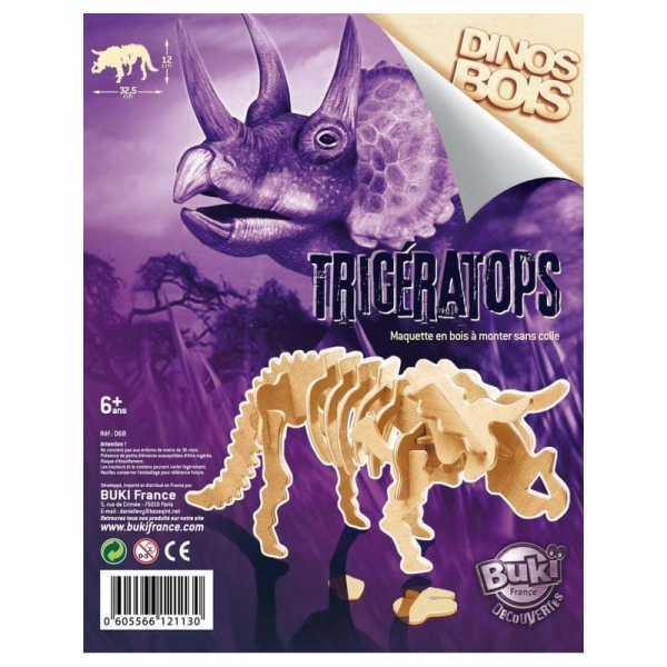 Dinozaur din lemn (diverse modele) 2