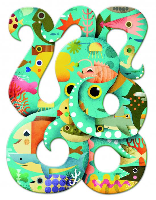 Puzzle Octopus 350 piese 1