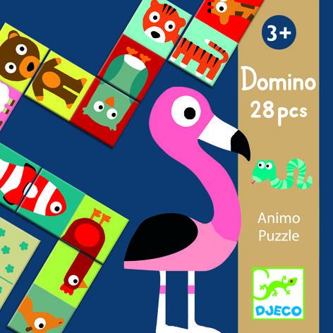 Domino animo puzzle 0