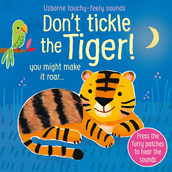 Don't tickle the tiger [0]