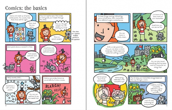 Write and draw your own comics [1]