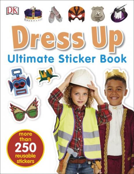 Dress up Sticker Book 0