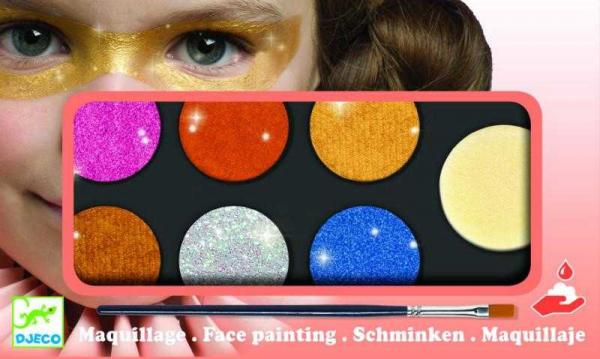 Culori make-up nonalergice metalic 0