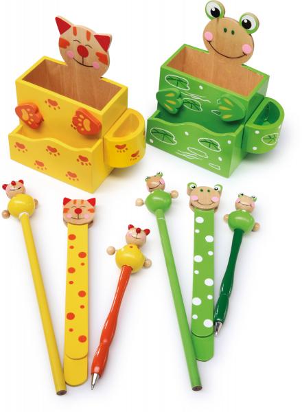 Set 2 suporturi creioane si accesorii 0