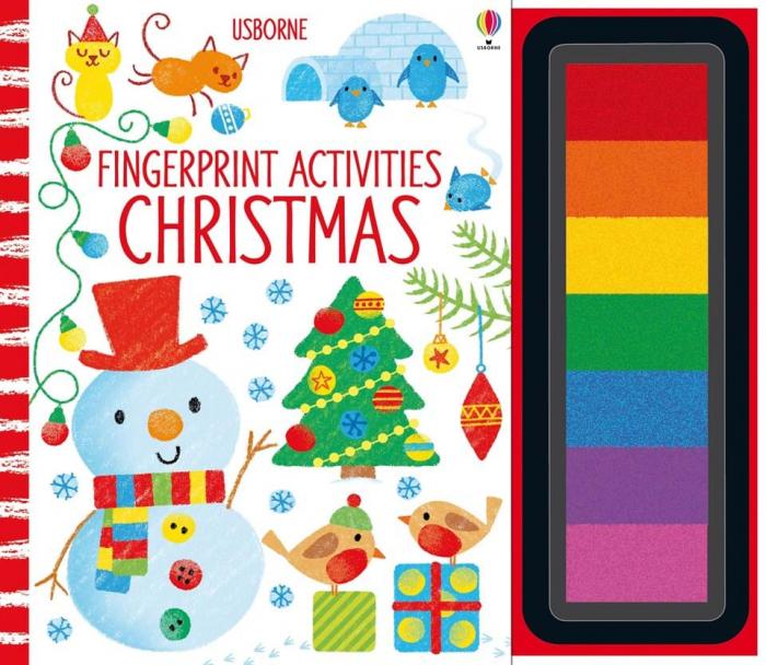 Fingerprint Activities Christmas 0