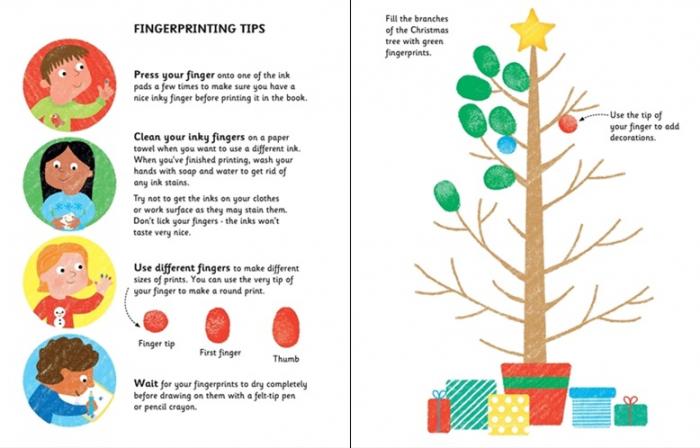Fingerprint Activities Christmas 3