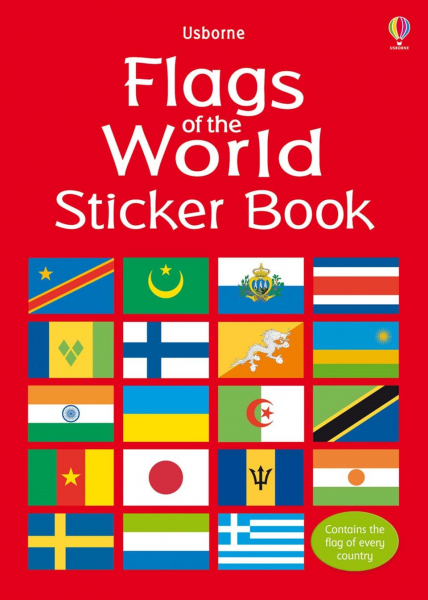 Flags of the world sticker book 0