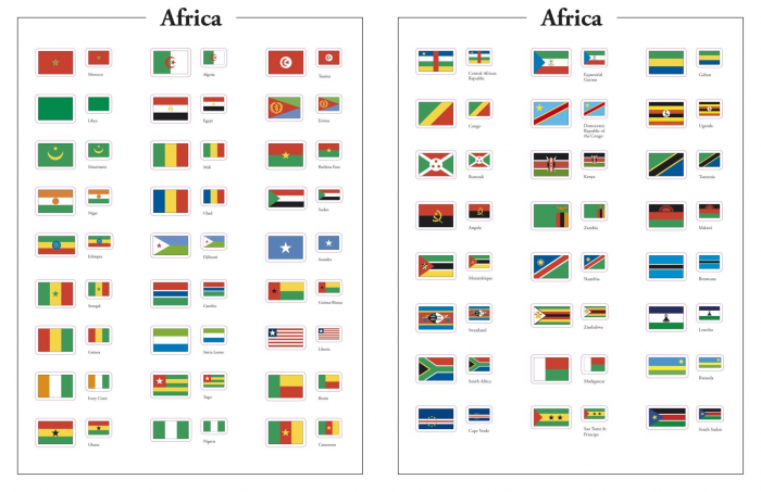 Flags of the World Ultimate Sticker Book 3