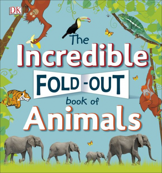 The Incredible Fold-Out Book of Animals 0