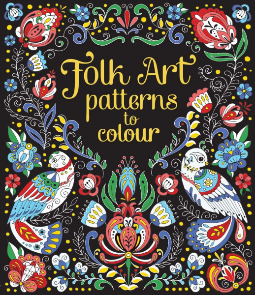 Folk Patterns to colour 0