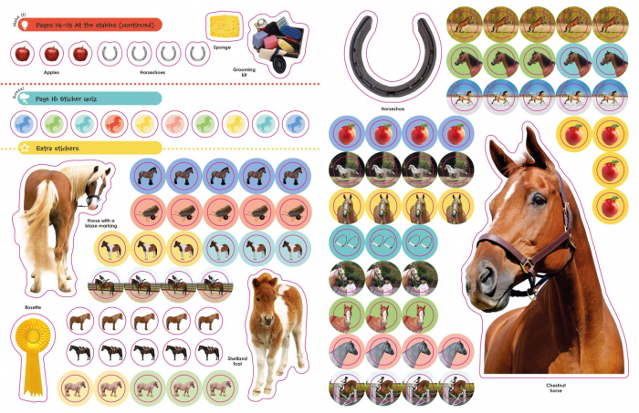 Horses and Ponies Ultimate Sticker Book 3