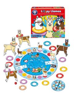 Joc educativ Lame cu colaci Loomy Llamas [1]