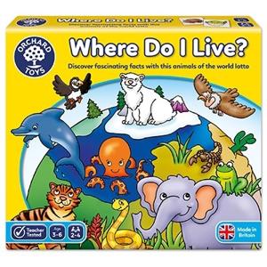 Joc educativ loto Habitate WHERE DO I LIVE 0