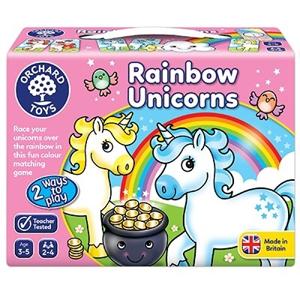 Joc educativ Unicornii Curcubeu RAINBOW UNICORNS 0