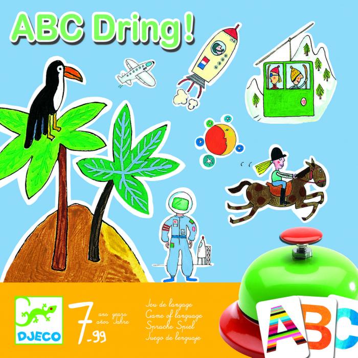 Joc de societate abecedar – ABC dring 0