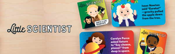 Little Scientist Board Book Set 1
