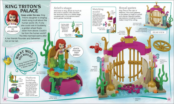 LEGO Disney Princess Build Your Own Adventure 2