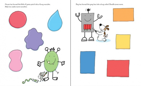 Doodles - caiet scrie sterge 3