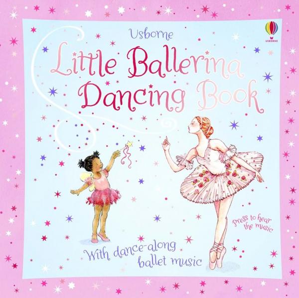 Little ballerina dancing book 0