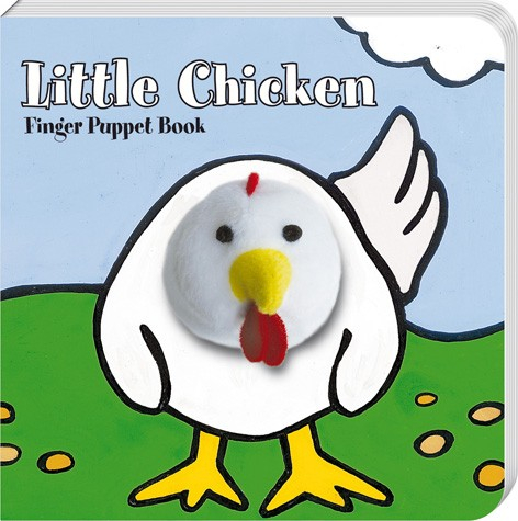little chicken finger puppet book 0