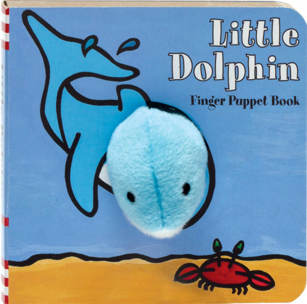 little dolphin finger puppet 0