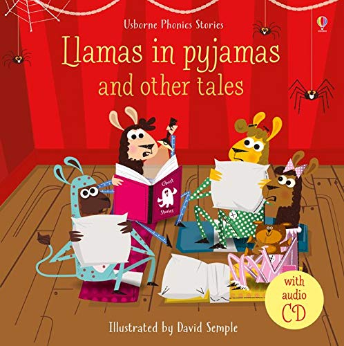 Llamas in Pyjamas and other tales with CD 0