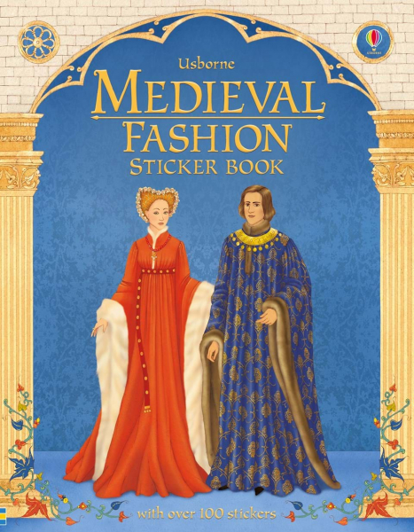 Medieval Fashion Sticker Book 0