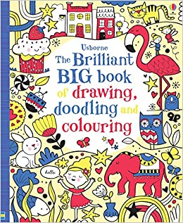 The Brilliant Big Book of Drawing, Doodling and Colouring 0
