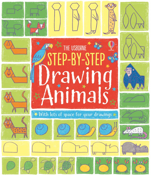 Step by step drawing animals 0