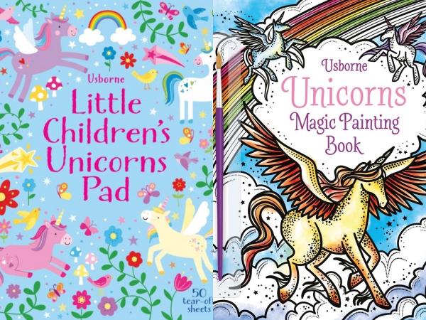 Pachet Unicorns Pad si Magic Painting Unicorns 0