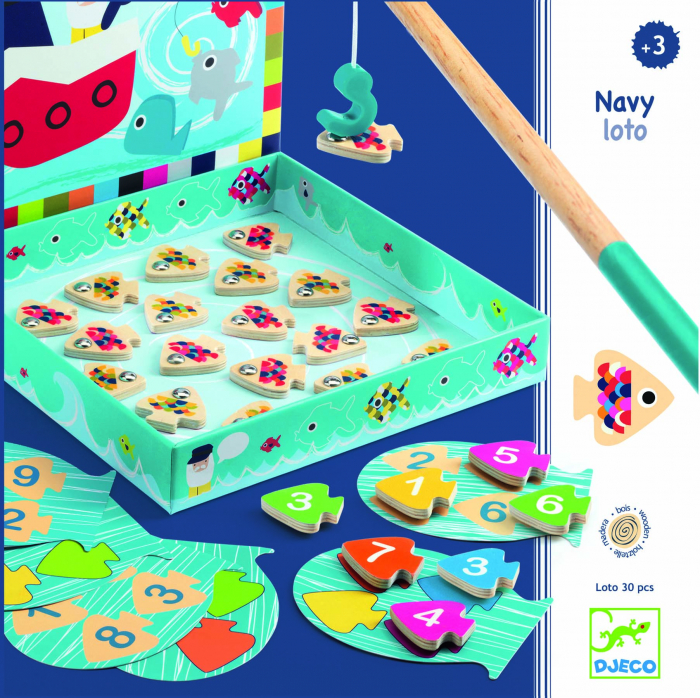 Joc educativ Navy loto magnetic 0